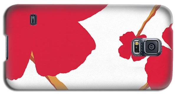 Contemporary Poppy Galaxy S5 Case