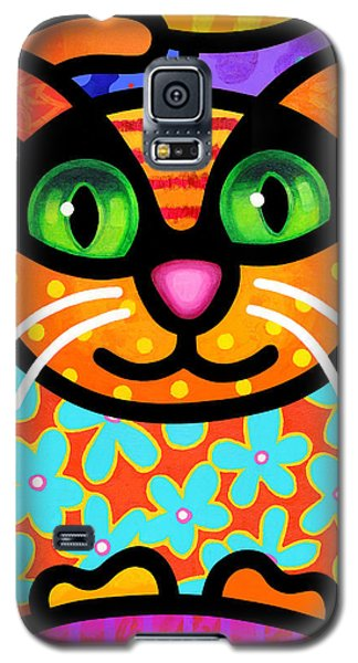 Contented Cat Galaxy S5 Case