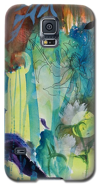 Galaxy S5 Case featuring the painting Continuum by Robin Maria Pedrero