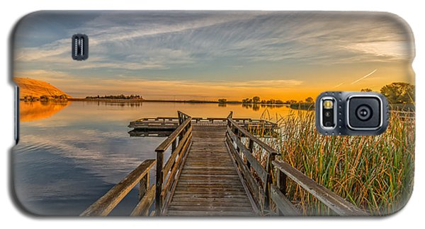 Contra Loma Dock At Sunrise Galaxy S5 Case by Marc Crumpler