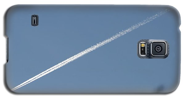Galaxy S5 Case featuring the photograph Contrail by David S Reynolds