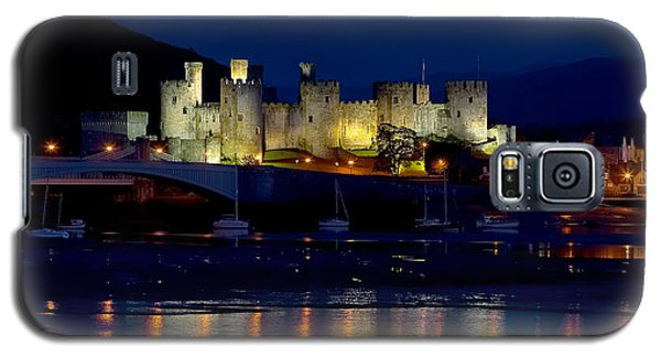 Conwy Castle At Night Galaxy S5 Case