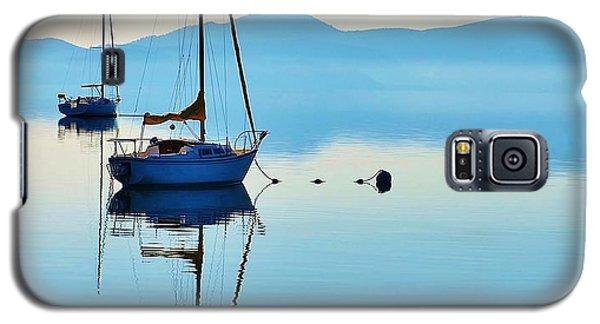 Cool Blue Tahoe Sail Galaxy S5 Case