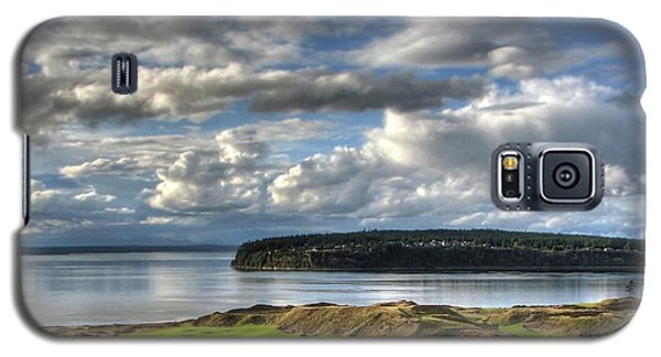 Galaxy S5 Case featuring the photograph Cool Clouds - Chambers Bay Golf Course by Chris Anderson
