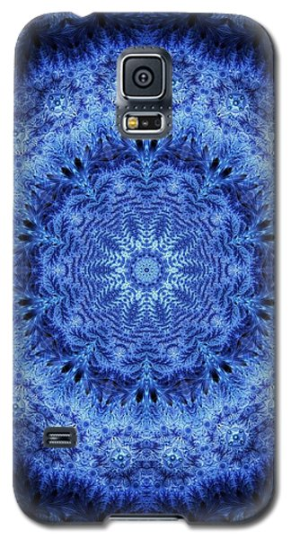 Galaxy S5 Case featuring the digital art Cool Down Series #2 Frozen by Lilia D