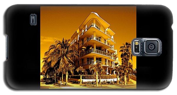 Cool Iron Building In Miami Galaxy S5 Case
