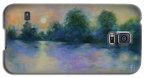 Galaxy S5 Case featuring the painting Cool Morning by Alison Caltrider