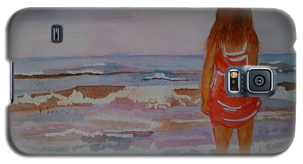 Galaxy S5 Case featuring the painting Cool Relief by Judi Goodwin