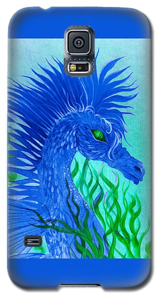 Cool Sea Horse Galaxy S5 Case by Adria Trail
