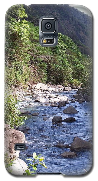 Galaxy S5 Case featuring the photograph Cool Stream by Sheila Byers