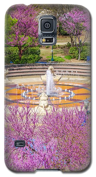 Coolidge Park Fountain In Spring Galaxy S5 Case