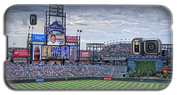 Coors Field Galaxy S5 Case
