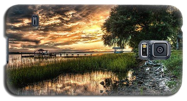 Coosaw Plantation Sunset Galaxy S5 Case by Scott Hansen