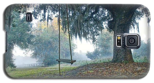 Coosaw Tree Swing Galaxy S5 Case by Scott Hansen