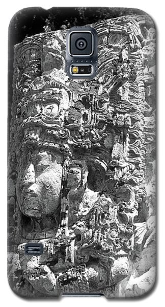 Copan Stela Honduras Galaxy S5 Case by John  Mitchell