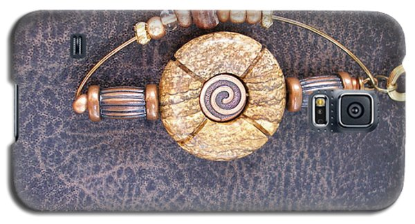 Galaxy S5 Case featuring the photograph Copper And Stone by Irma BACKELANT GALLERIES