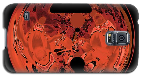 Copper Disk Abstract Galaxy S5 Case