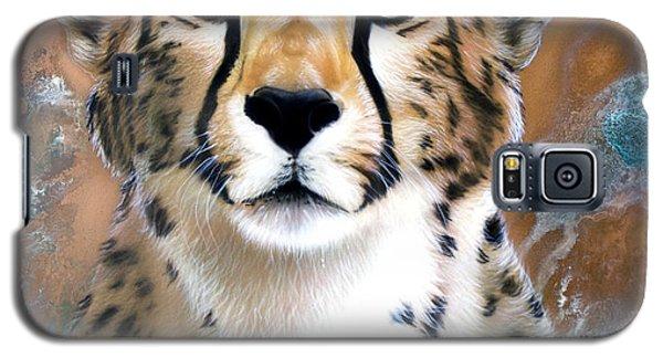 Copper Flash - Cheetah Galaxy S5 Case