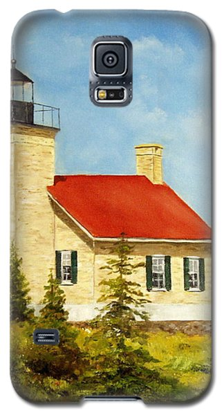 Copper Harbor Lighthouse Galaxy S5 Case by Lee Piper