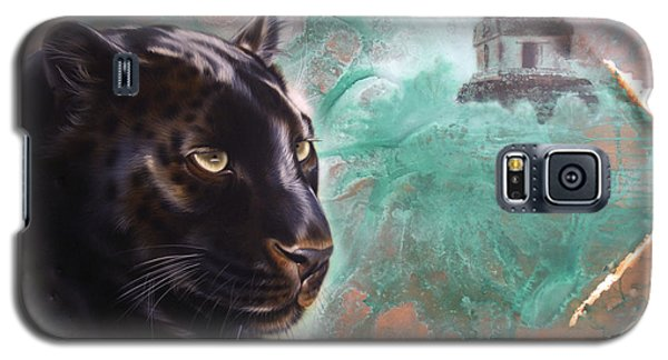 Copper Jaguar Galaxy S5 Case