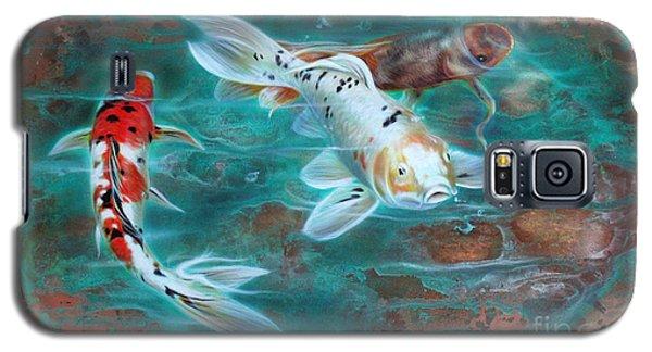 Copper Koi Galaxy S5 Case