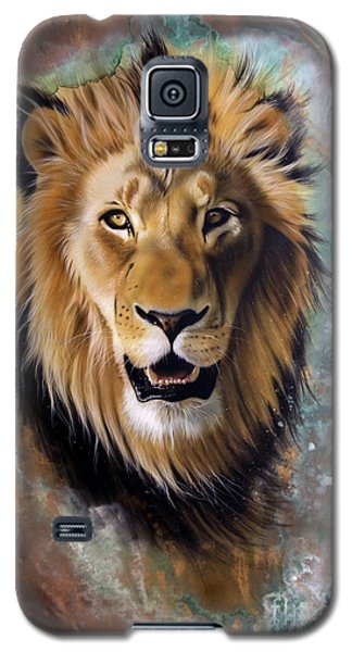Copper Majesty - Lion Galaxy S5 Case