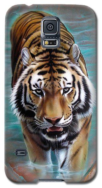 Copper Tiger 3 Galaxy S5 Case