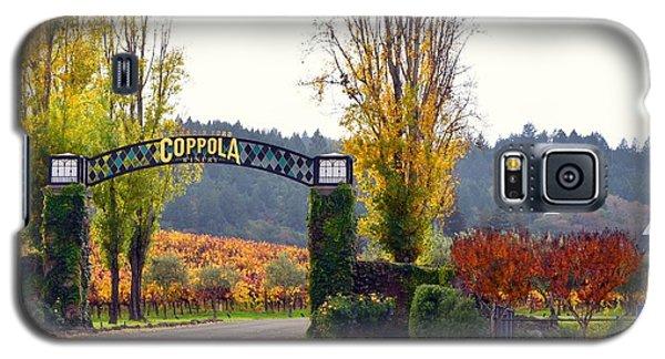 Coppola Winery Sold Galaxy S5 Case by Antonia Citrino