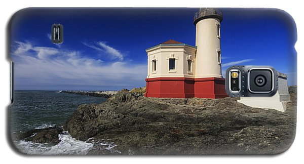 Coquille River Lighthouse 3 Galaxy S5 Case