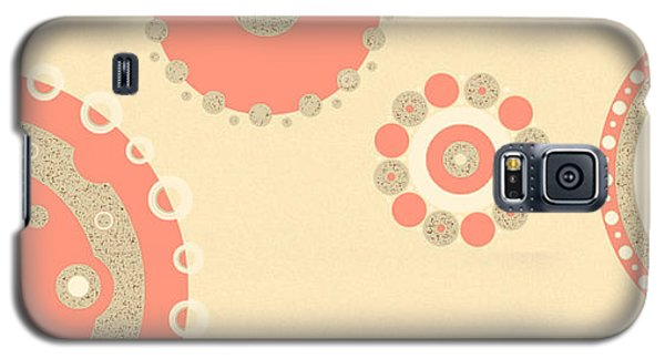 Galaxy S5 Case featuring the digital art Coral And Cork by Kjirsten Collier