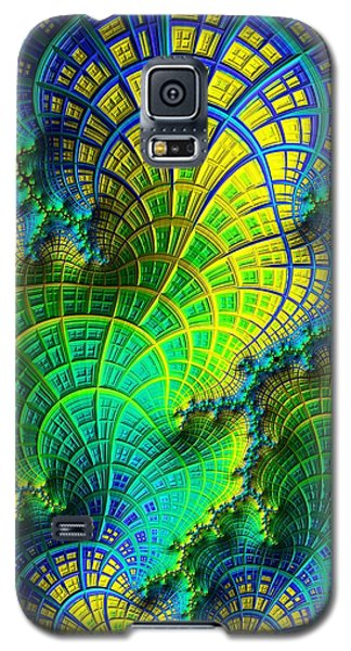 Coral Electric Galaxy S5 Case