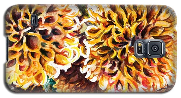 Coral Flowers Galaxy S5 Case
