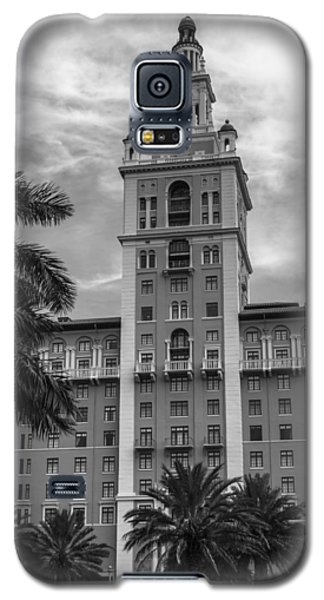 Coral Gables Biltmore Hotel In Black And White Galaxy S5 Case