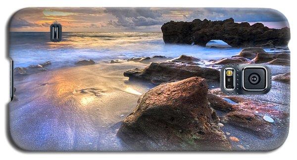 Coral Garden Galaxy S5 Case by Debra and Dave Vanderlaan