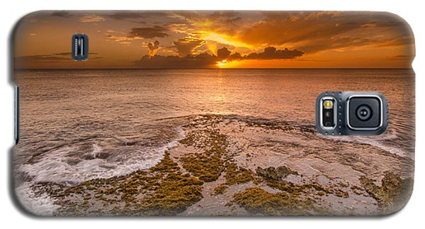 Coral Island Sunset Galaxy S5 Case
