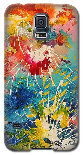 Coral Madness Galaxy S5 Case