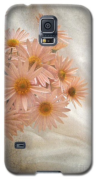 Coral Pink Still Life Galaxy S5 Case