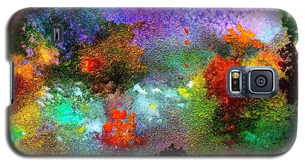 Coral Reef Impression 1 Galaxy S5 Case by Hazel Holland