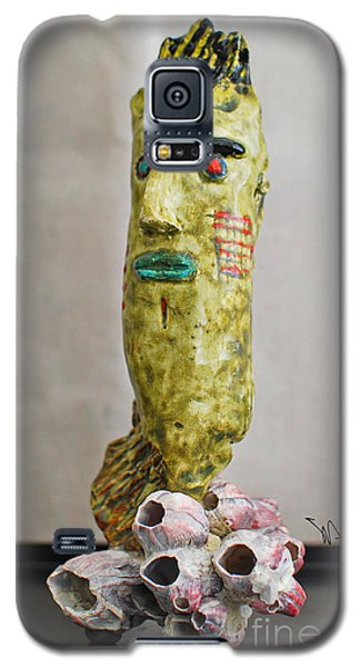 Coral Surfing Galaxy S5 Case