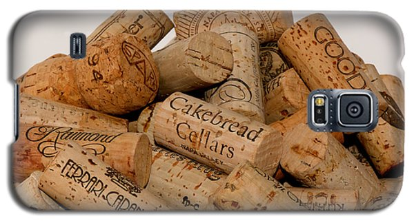 Galaxy S5 Case featuring the photograph Corks - 11 by Vinnie Oakes