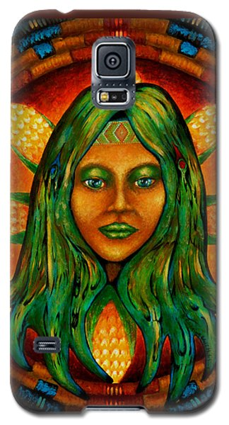 Corn Maiden Galaxy S5 Case