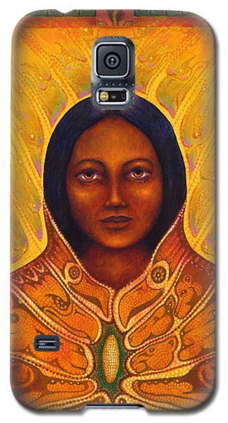 Corn Woman Galaxy S5 Case
