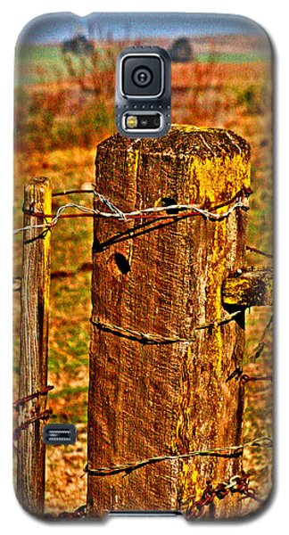 Corner Post At Gate Galaxy S5 Case