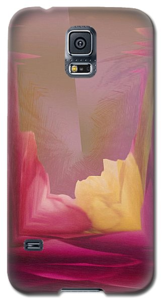 Cornered Yellow Rose Galaxy S5 Case