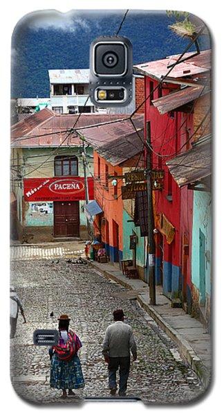 Coroico Street Scene Galaxy S5 Case