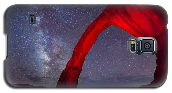 Corona Arch Milk Way Red Light Galaxy S5 Case