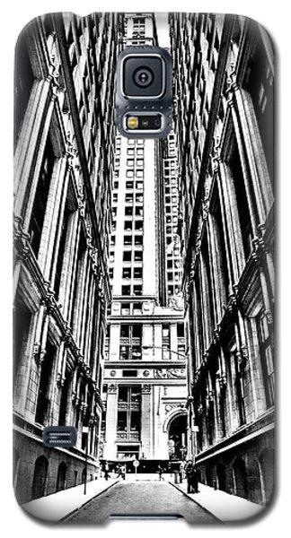 Times Square Galaxy S5 Case - Corporatocracy by Az Jackson