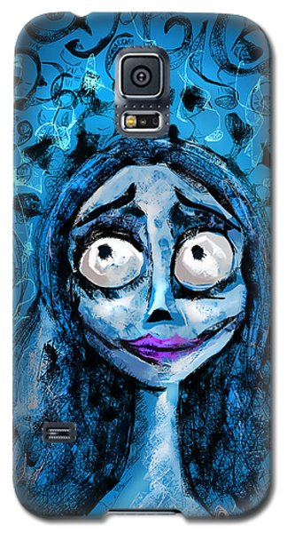 Corpse Bride Phone Sketch Galaxy S5 Case
