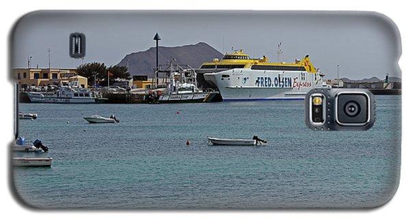 Corralejo Harbour Galaxy S5 Case