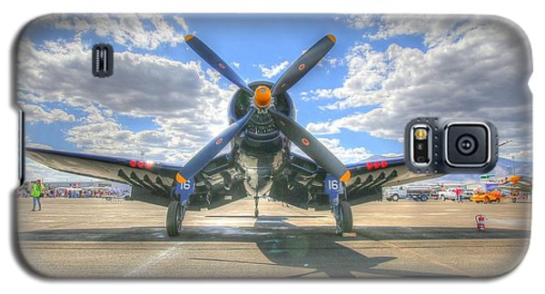 Corsair On The Flight Line At Reno Air Races Galaxy S5 Case
